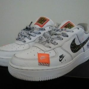 Nike Air Force 1 Just Do it Edition (Size 6.5M/8W)